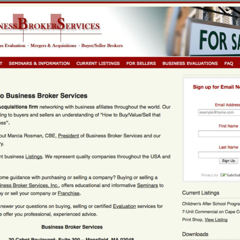 Business Broker Services