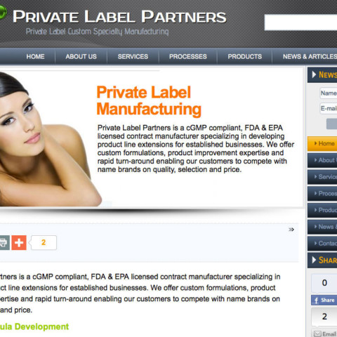 Private Label Partners, Inc.